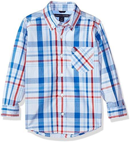 oys Corbin Woven Long Sleeve Shirt, Symphony Blue, Large ()