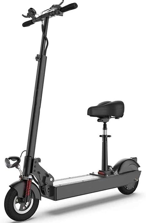 A&DW Scooter Eléctrico Plegable Portátil, Bicicleta Eléctrica De Velocidad Ajustable, Motor De 350 Vatios De Potencia Y Carga De 300 LB, Scooter Ultra Ligero E, Batería De Litio,Batterycapacity10.4AH: Amazon.es: Deportes y aire