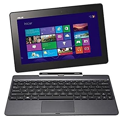 Asus Transformer Book 10.1-inch 32GB Detachable 2-in-1 Touch Laptop/Tablet T100TA 2GB RAM With Neoprene Protective Sleeve and Keyboard Dock Bundle - Grey (Certified Refurbished)