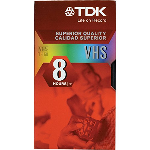 T-160 Tdk Vhs (TDK T-160 VHS Video Tapes - 10 Pack)