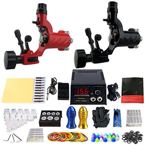 ZHLEI Fine Motor Tattoo Machine Double Machine Suit (Mass Fog Machine)