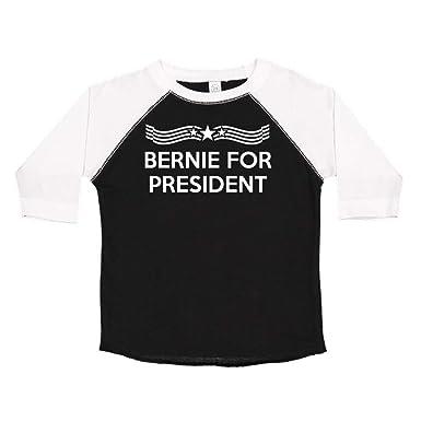553dd401b Amazon.com: Bernie for President (Star Banner) Presidential Election 2020  Toddler/Kids Raglan T-Shirt: Clothing