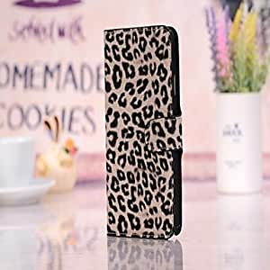 AES - Luxury Case Wallet Leopard Print Case for Samsung Galaxy Note 3 , Yellow