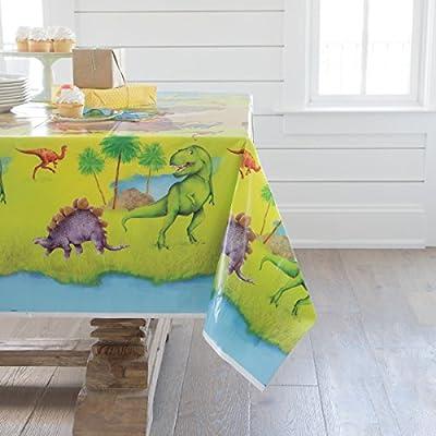 Dinosaur Plastic Tablecloth, 84