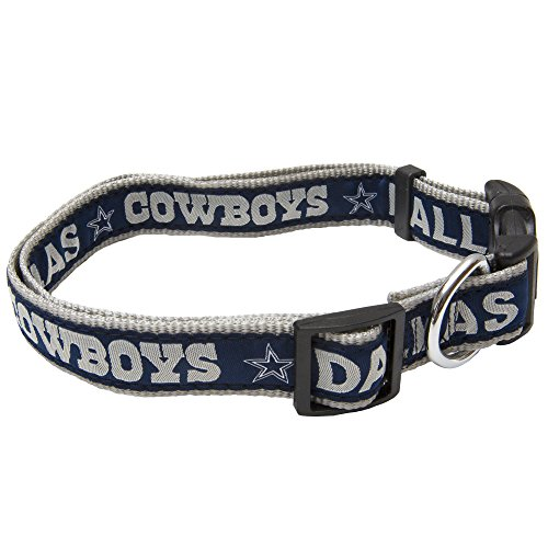 Pets First NFL Dallas Cowboys Pet Collar, Medium - Dallas Cowboys Store