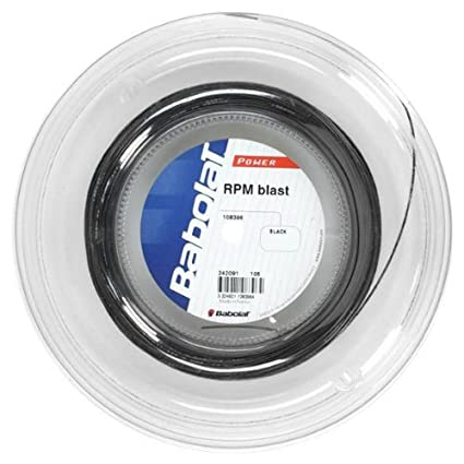 Babolat RPM Blast 17G (1.25) Tennis String Half Reel,Tennis Racquet Strings