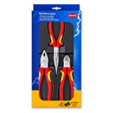 Knipex 00 20 12 ''Electric''  Pliers Set (3 Piece)