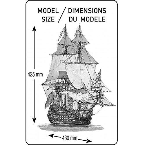 PLASTIC MODEL SHIP BOAT VESSEL SAILBOAT LA SIRENE 1//200 HELLER 80893