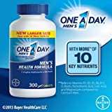 One-A-Day Multivitamin, Men's Health Formula 5Pack (300 Tablet Each ) Nm@kSd