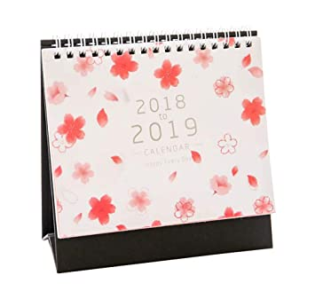 Flor de escritorio escritorio de mesa calendario junio2018 ...