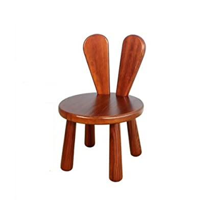 HCJSFD JCRNJSB Sofa Stool Stool Simple Living Room Solid Wood Stool  Backrest Household Child Stool Fashion