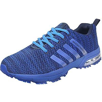 wealsex Chaussures De Course Basket Running Compétition Sport Trail Entraînement Homme Femme Fitness Tennis Sneakers 35…