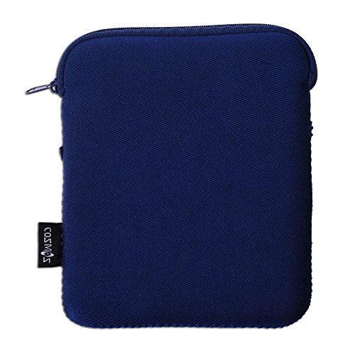 COSMOS Neoprene Protection Carrying Sleeve Case Bag for Kindle Oasis E-Reader 2016 (Dark Blue Color)
