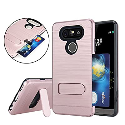 Berry Accessory(TM) [Drop Protection] Protective Case [Shock Proof] [Dual Lawyer] Hybrid Defender Armor Case Cover For LG V20 With Free Berry logo stand holder by Berry Accessory(TM)