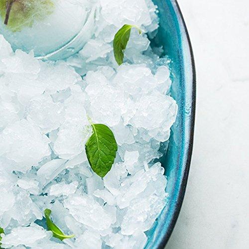 He Xiang Ya Shop Blue Large Dinner Plate Soup Plate Household Fruit Salad Dish Fish Plate Ceramic Dinnerware by He Xiang Ya Shop (Image #5)'