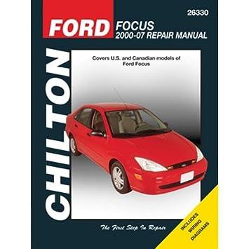amazon com haynes repair manual for ford focus number 26330 automotive rh amazon com 2000 Ford Focus Service Manual 2000 Ford Focus Repair Guide