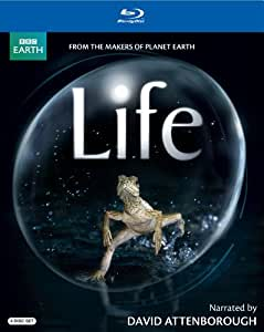 Life (David Attenborough-Narrated Version) [Blu-ray]