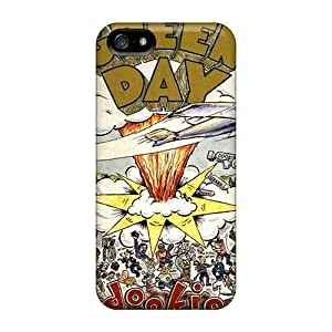 Bumper Hard Phone Cover For Iphone 5/5s With Provide Private Custom Attractive Green Day Series KerryParsons