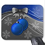 xtrac mouse pad - Blue Gray Mouse Pad Christmas Ornaments Mouse Mat