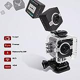 MATECam Action Camera 4K WiFi Sports Camera Ultra