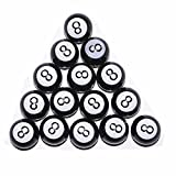 UXOXAS 4 Pcs Hot Selling Black Eight Style Motorcle Tyre Valve Cap Fit for Car Scooter ATV Motocross, black