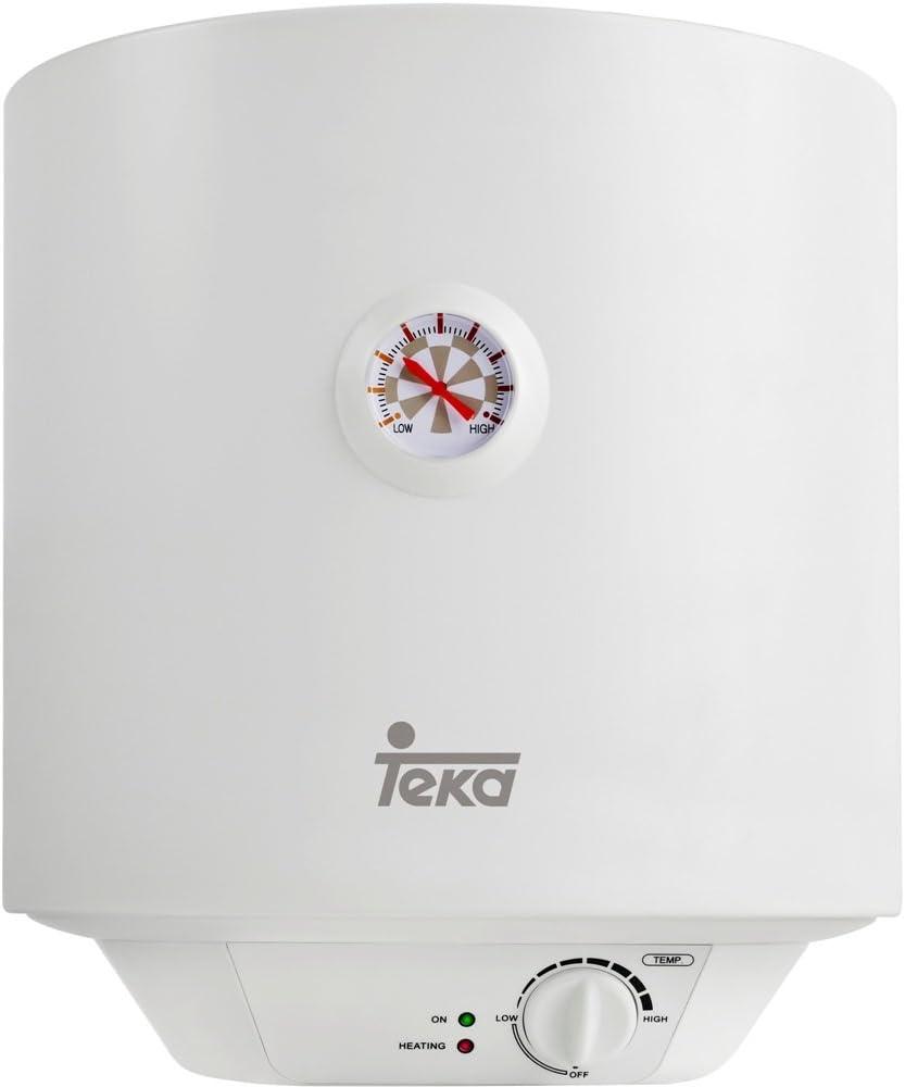Teka 42080015 Termo Eléctrico, Blanco, 15 l