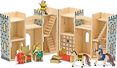 Melissa & Doug Children's Fold & Go Castle | Popular Toys