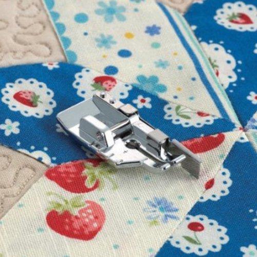TinkSky, 6 mm, prensatela para acolchado, bordado, colcha de retazos, para máquina de coser doméstica (color plateado).: Amazon.es: Bricolaje y herramientas