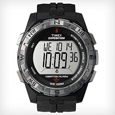 Timex Digital Expedition Watch with Vibrating Alarm from Timex