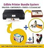 Icinginks Latest Edible Printer Bundle, Includes 50 Edible Sheets, Refillable Edible Cartridges, Edible - Best Reviews Guide