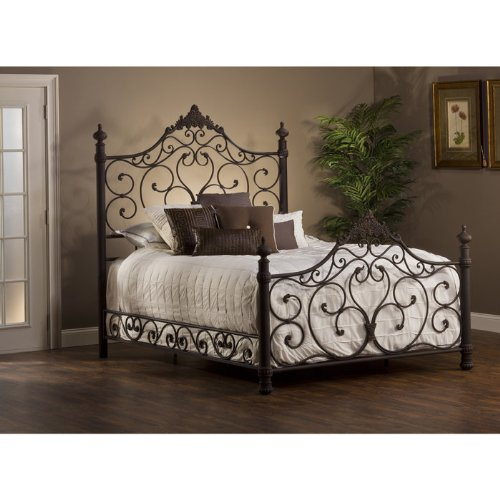 Hillsdale Furniture Headboard in Antique Brown Finish (King: 79.25 in. W x 3.5 in. D x 72 in. H)