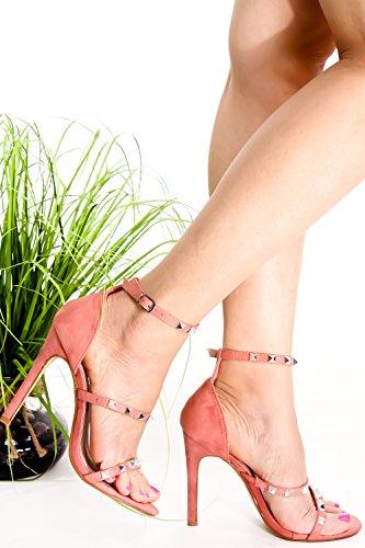 Lolli Couture Diamond Patent Letter Mary Jane Style Gesp Amandel Teen Platform Naaldhakken Pinkblushvvsuede-m01-41