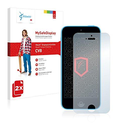 2x Vikuiti MySafeDisplay Pellicole Protettiva Schermo CV8 da 3M per Apple iPhone 5C