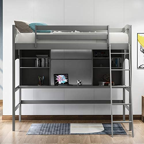 SOFTSEA Twin High Loft Bed