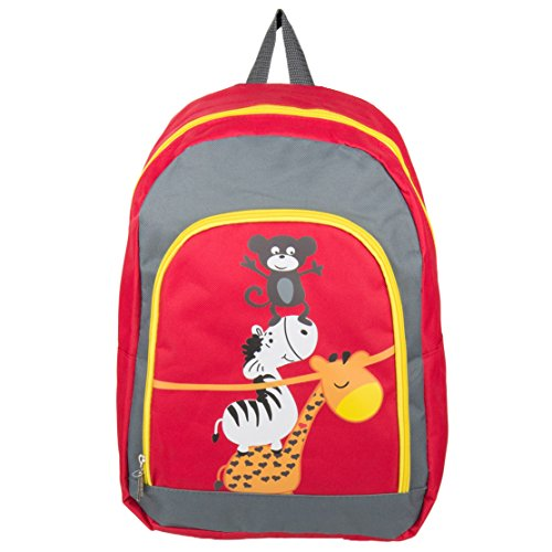 Nylon Hybrid Lovely Kid's Travel Bag Backpack Fits RCA Portable DVD Players (Rca Portable Dvd Player Drc6318e)