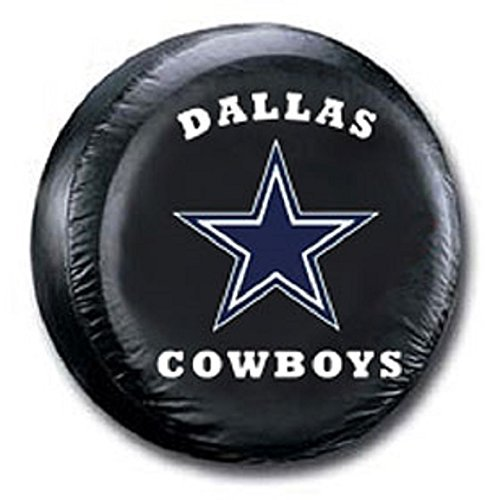 (Dallas Cowboys NFL Spare Tire Cover (Black))