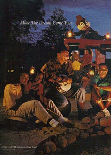 Disney World, Make the Dream Come True, Fort Wilderness Campground Resort (Disney Fort Wilderness Resort)