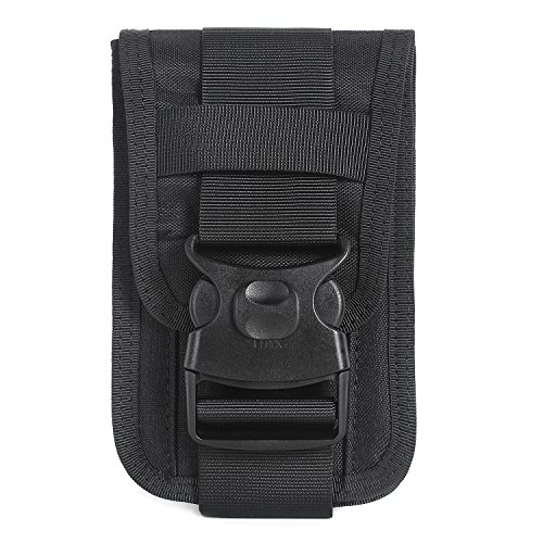 Molle Phone Pouch for 6 inch phone with card holders and money pockets (Interior Money Pouch)