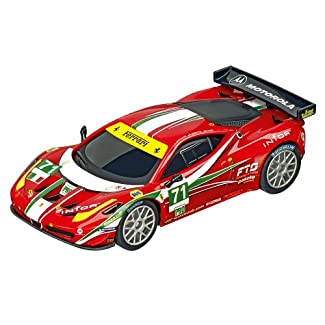Carrera Digital 143 - 20041373 - Voiture De Circuit - Ferrari 458 Italia Gt2 Af Corse, No.71