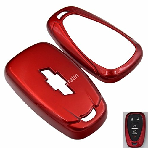Metallic Color Keyless Hard Key Case Cover for Chevrolet 6th Gen Camaro Malibu Impala 2016 2017 2018