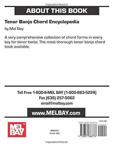 Banjo irish tenor banjo chords : Amazon.com: Tenor Banjo Chord Encyclopedia (0796279001267): Mel ...