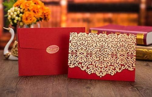 50pcs Cross Wedding Invitation,Laser Cut Wedding Invitation,English Wedding Invite,Wedding Invite,Vintage Wedding Invitation,Incarnadine