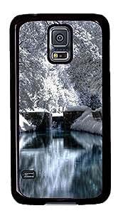 carry Samsung Galaxy S5 case Beautiful White Nature PC Black Custom Samsung Galaxy S5 Case Cover wangjiang maoyi by lolosakes