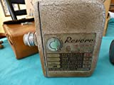 Vintage Revere model 80 Revere Eight working with case & extra lenses