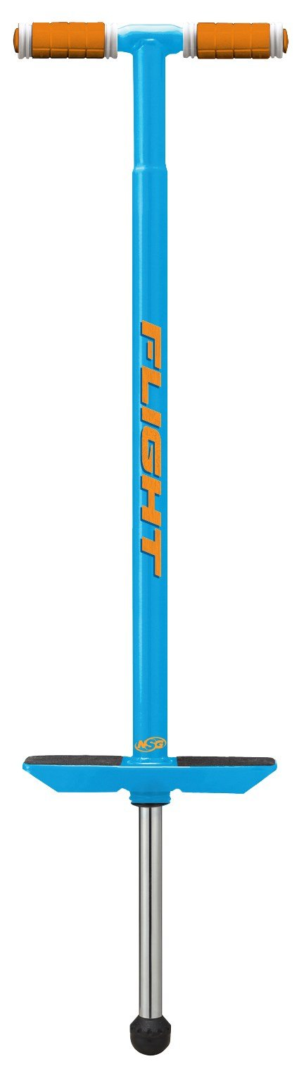 NSG Pogo Stick - Flight Premium Performance - Blue, Ages 9 and up 80 - 180 Pounds by NSG