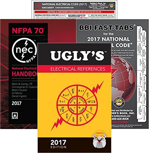 2018 Nec Handbook - 2017 NFPA 70 National Electrical Code, NEC, HANDBOOK, NEC Fast Tabs, NEC Quick Card and Ugly's Electrical References, 2017 Edition, Package