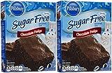 Pillsbury Sugar Free Mix-Chocolate Fudge Brownie-12.35 Oz-2 Pack