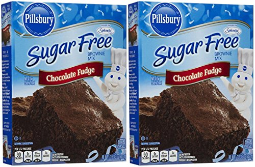 Pillsbury Sugar Free Mix-Chocolate Fudge Brownie-12.35 Oz-2 - Diet Doctors Carbrite