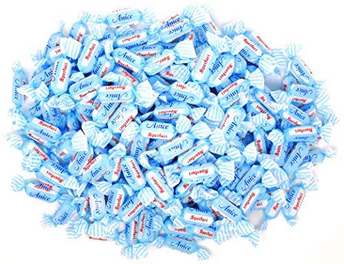 Sperlari Italian Anice Hard Candy (2.2 Pound Bulk Bag) Imported Product of Italy