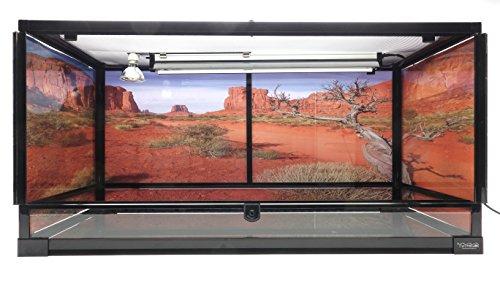 Best reptile habitat - Carolina Custom Cages Terrarium, Large 36Lx18Dx18H; Easy Assembly